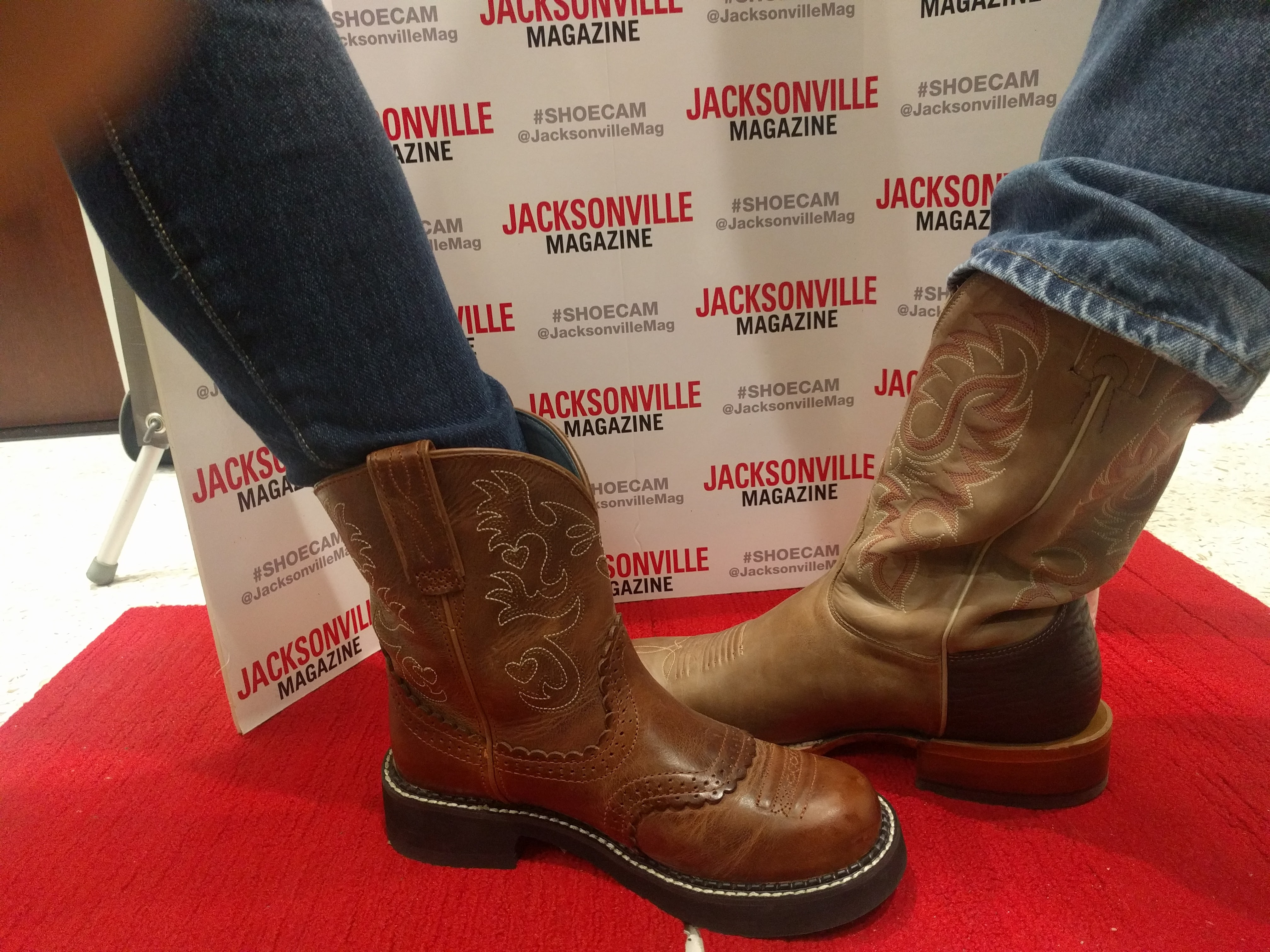 Tracy - Ariat and Rick - Little Texas Two Step