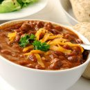 12890414 - a bowl of chili con carne