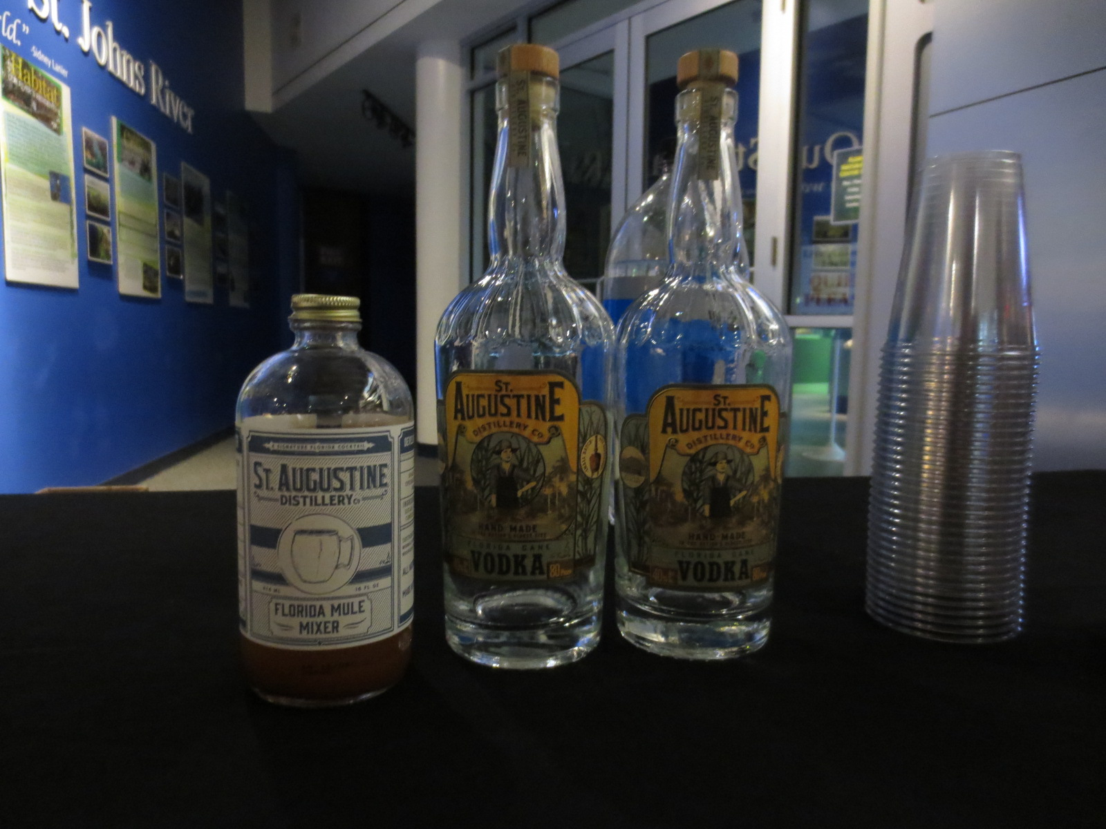 Florida Cane Vodka and Florida Mule Mixer from the St. Augustine Distillery.