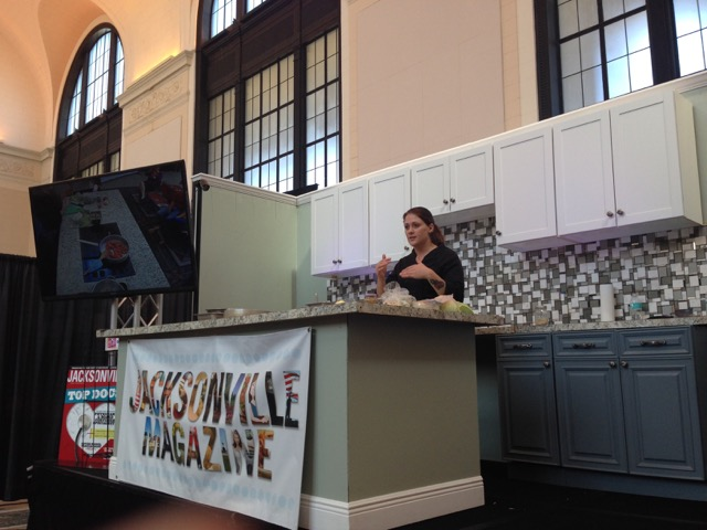 Jax Mag Cooking Stage At The Home Patio Show Jacksonville Magazine